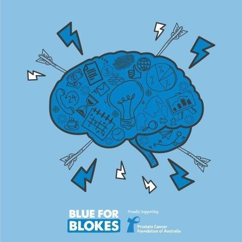 BrainAwarenessWeek blue for blokes