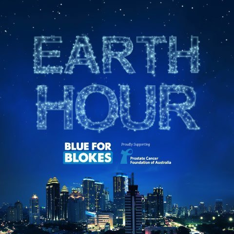 blue for blokes earthour