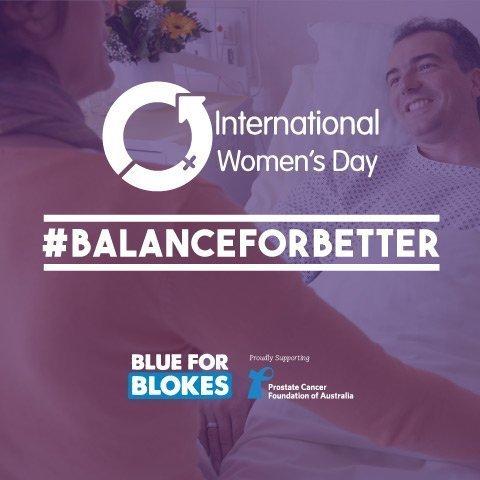 blue for blokes international womens day