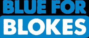 blue for blokes profile logo