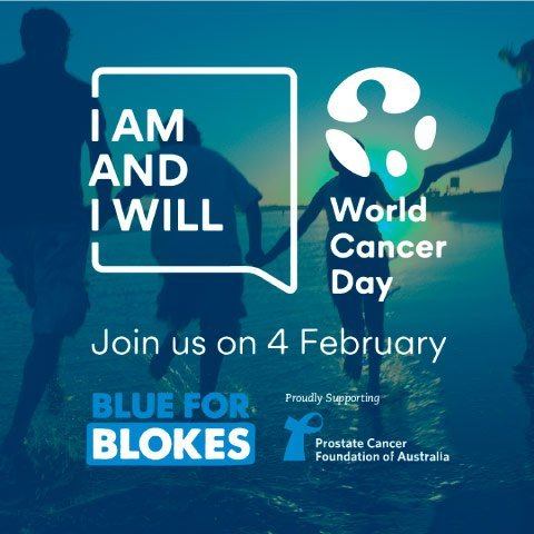 blue for blokes world cancer day