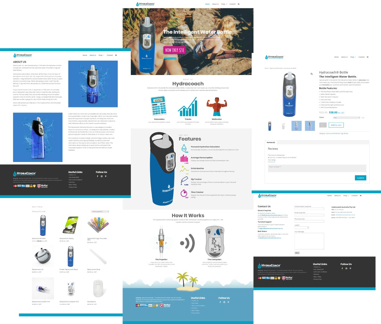 hydracoach website