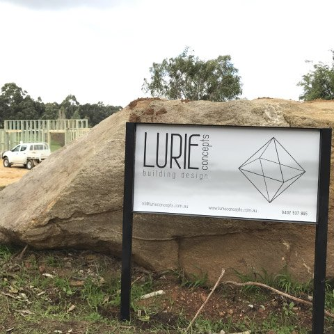 lurie site sign