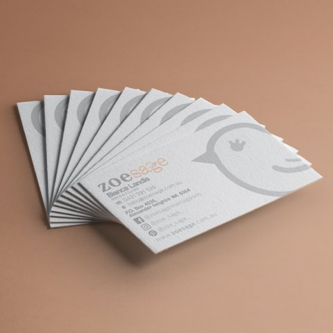 zoesage business cards2